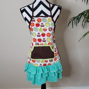 Fruity Kitchen Apron